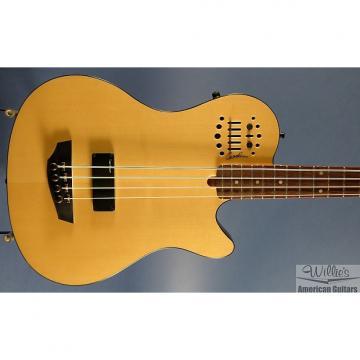 Custom New Godin A4 Ultra acoustic/electric bass