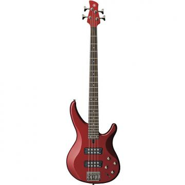 Custom Yamaha TRBX304 Candy Apple Red 4-String Electric Bass Guitar