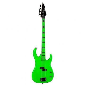 Custom Dean Custom Zone 4-String Electric Bass Guitar, Nuclear Green
