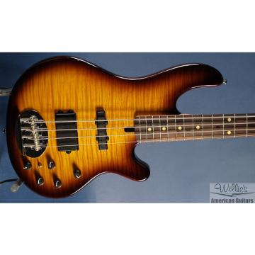 Custom New Lakland Skyline 44-02 Deluxe bass - sunburst