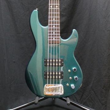 Custom G&L USA L2500 Empress Emerald Blue Metallic w/case