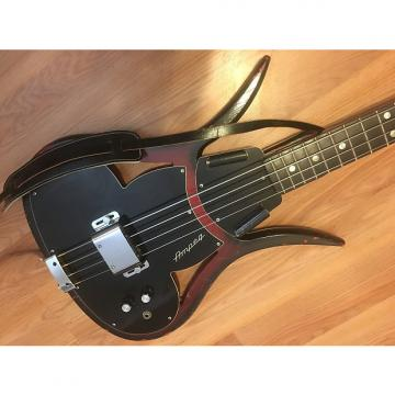 Custom Ampeg ASB-1 Devil Bass Rare Solid Body W/Original Case and Paperwork and Ampeg Strap