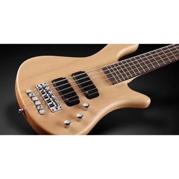 Custom Warwick RockBass RB Streamer 5-String Passive Electric Bass Guitar Natural Satin