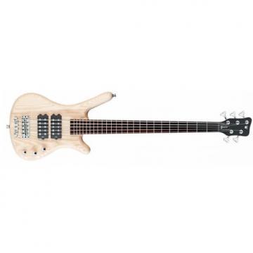 Custom Warwick Rockbass Corvette $$ 5-String Electric Bass Guitar Natural Satin Finish