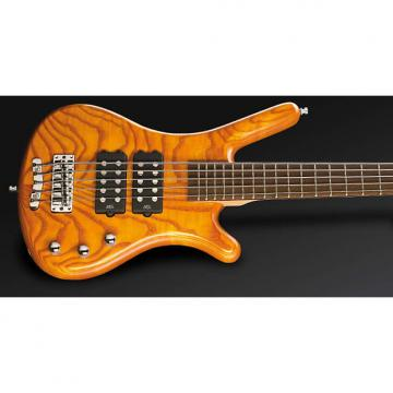Custom Warwick RockBass Corvette $$ 5-String Bass Guitar Honey Violin Oil Finish