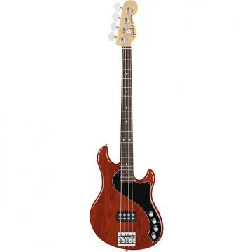 Custom Fender American Deluxe Dimension Bass IV Cayenne Burst Electric Bass w/ Case