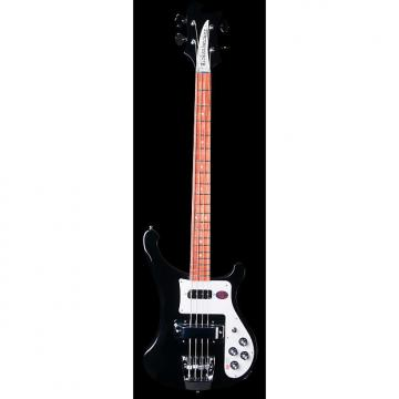 Custom Rickenbacker 4003s Reissue Jetglo Black - Mint Condition w/ Six Month Alto Music Warranty!