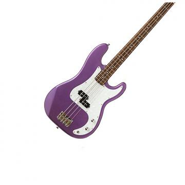 "Custom Darling Divas PB990MP Purple Matallic Solid 34"" Electric Bass Guitar- BEST-BUY"