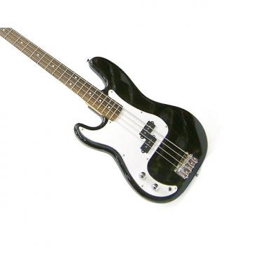Custom Crestwood Bass Electric Guitar | 4 String | P-Style (Lefty) MODEL: PB970LHBK Lefty - free shipping
