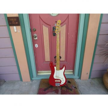 Custom Fender Bullet bass 1976 Red
