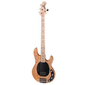Custom Ernie Ball Music Man Stingray 4 Bass Guitar Natural with Hard Case