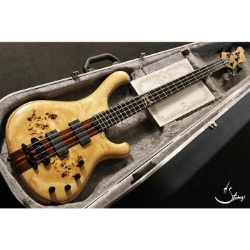 Custom Mayones Custom 4 Pi Bass Wojtek Pilichowski signature Transparent Natural Gloss