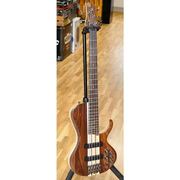 Custom Ibanez BTB685SC NTF Terra Firma with Bartolini Pickups 5-String Bass Guitar New!