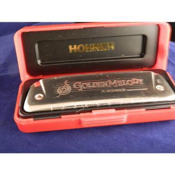 Custom Hohner Golden Melody  542/20  Key E 2000-11 Red / Chrome
