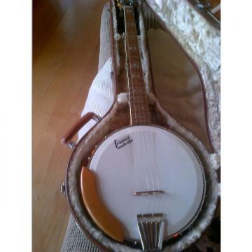 Custom Framus Derroll Adams M-Line 5 string banjo 1976 Natural