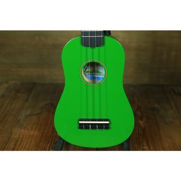 Custom Diamond Head DU-150 Green Soprano Ukulele