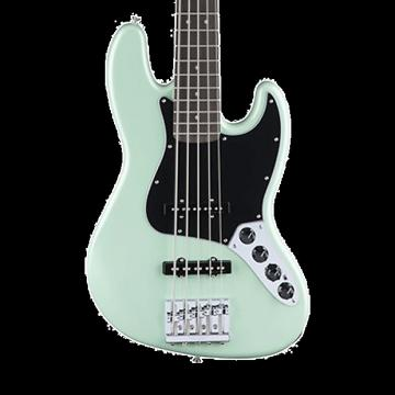 Custom Fender Deluxe Active Jazz Bass with Rosewood Fingerboard - Surf Pearl with Gig Bag