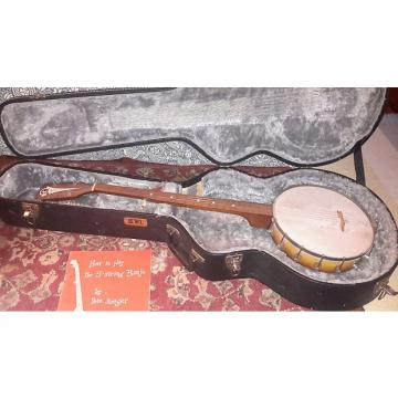 Custom Kay Montgomery Wards Tesico Made In The USA USA us Five String Banjo Vintage 1950 Lemon Burst Tkl Hard  Case