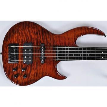 Custom ESP-LTD Bunny Brunel Singnature 5 String  Burnt Orange
