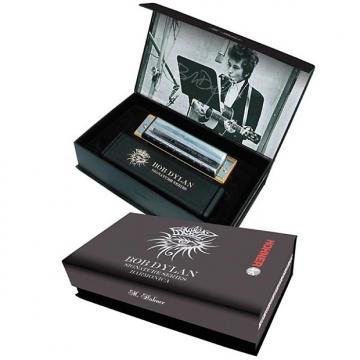 Custom Hohner Bob Dylan Signature Harmonica (Key of C)