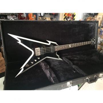 Custom Dean Razorback Bass Black/Silver