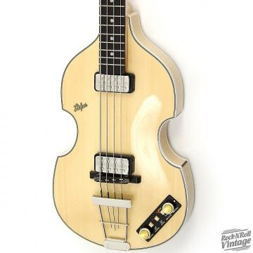 Custom Hofner  500/1 V62 WHP Natural Blonde Finish
