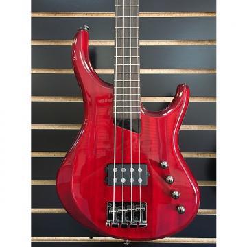 Custom Michael Tobias MTD Kingston Artist 4 strings Trans Red