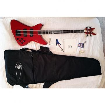 Custom Peavey  PXD Tragic 4 (Red) Bass mid-2000's Red