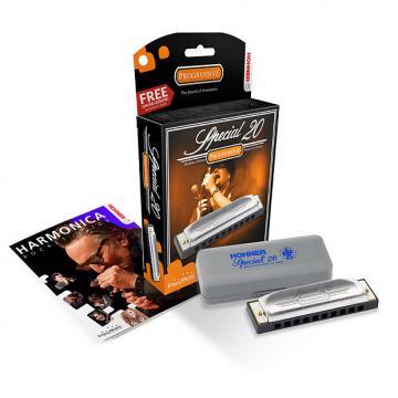 Custom Hohner Special 20 Diatonic Harmonica - B Flat