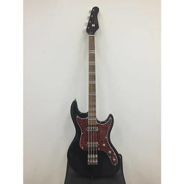 Custom Hofner Galaxie Four String Electric Bass Guitar in Black