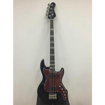 Custom Hofner HCT-185 Four String Electric Bass Guitar in Black
