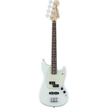Custom Fender Mustang Bass Guitar PJ Pickups Sonic Blue