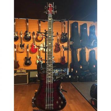 Custom Schecter Stiletto Extreme 4 Black Cherry Electric Bass