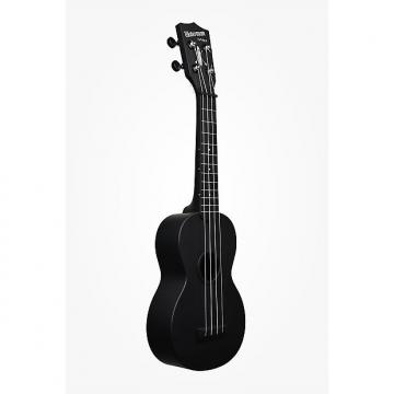 Custom Kala Waterman Matte Black Ukelele
