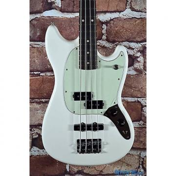 Custom Brand New Fender Offset Series Mustang Bass PJ Olympic White