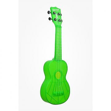 Custom Kala Waterman Fluorescent Green Ukelele