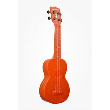 Custom Kala Waterman Fluorescent Orange Ukelele