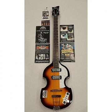 Custom Hofner Ignition Violin Special Edition Cavern Club Liverpool Bass - Sunburst w/Case