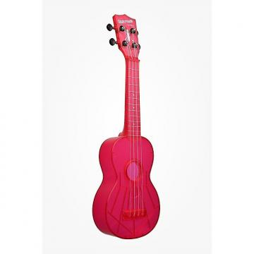 Custom Kala Waterman Fluorescent Pink Ukelele