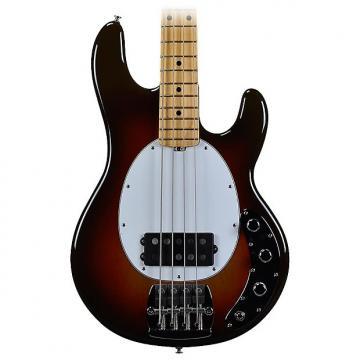 Custom Music Man Stingray Old Smoothie Electric Bass - Chocolate Burst