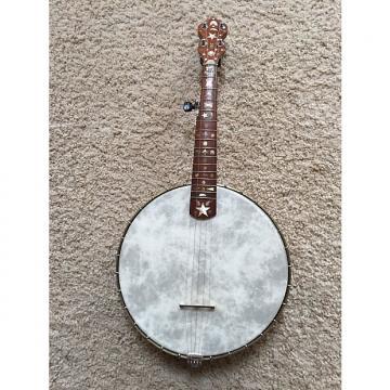Custom Vintage/Antique Open Back Ornate 5 String Banjo