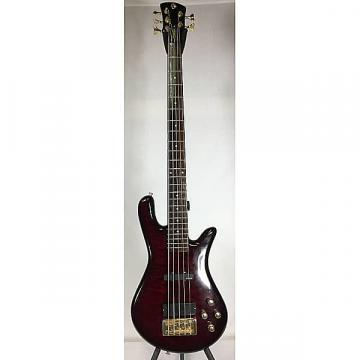Custom Spector Legend Dark Cherry Sunburst