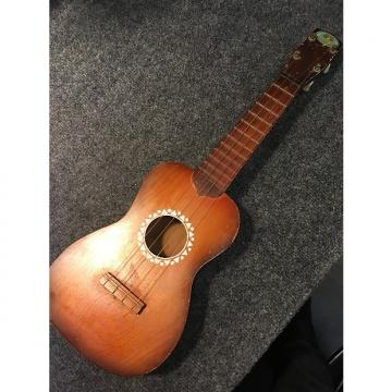Custom Regal Soprano Ukelele Burst Uke 40s