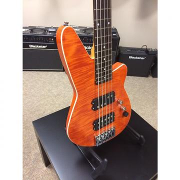 Custom Reverend MERCALLI 5 FM - Rock Orange Flame Maple