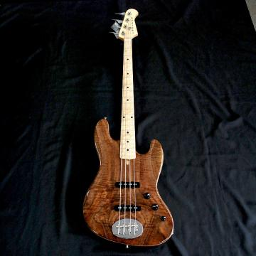 Custom Rare Lakland USA 44-60 Custom Curly Walnut 4 String Jazz Bass