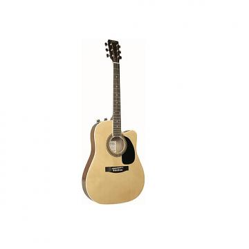 Custom Johnson Spruce Top Thinbody Acoustic Electric Guitar with pickup  Model:  JG-650-T