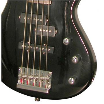 Custom Kona 5-String Electric Bass - Model: KE5BBK