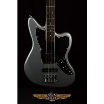 Custom Squier  SS Vintage Modified Jaguar Bass in Silver