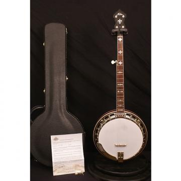 Custom Brand new Huber Kalamazoo Truetone 5 string flathead banjo Huber set up with new hardshell case