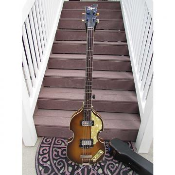 Custom Hofner BASS 500/1  1965 Brownburst